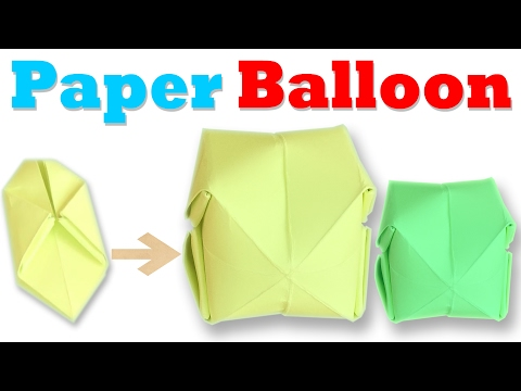 How To Make an Origami Balloon Step by Step | Paper Balloon Tutorial | Origami VTL