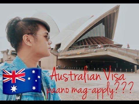 AUSTRALIAN VISA. paano mag-aaply?