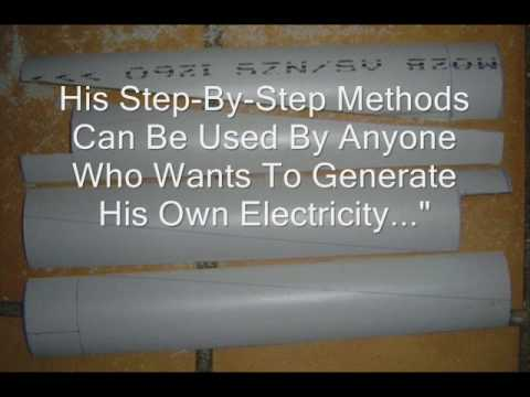 Create electricity at home - renewable energy  Make a windmill and solar power system