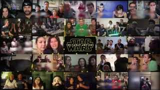 Star Wars VII: The Force Awakens - Official Trailer 3 (Reactions Mashup vol. 3 Groups)