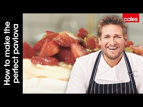 How to make the perfect pavlova with Curtis Stone