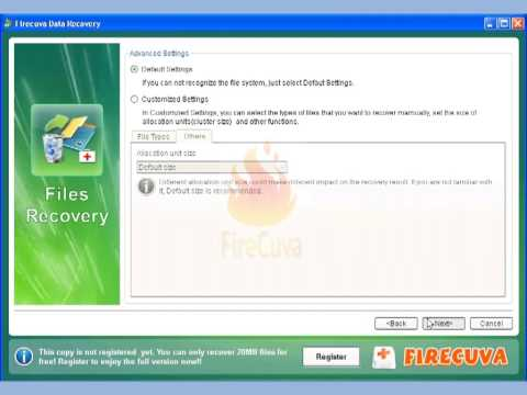 Lost File Recovery - Recover lost files after cut and paste transfer
