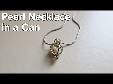 Pearl Necklace in a Can
