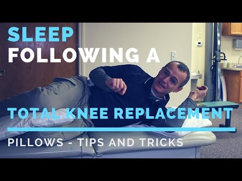 Best Position To Sleep After A Total Knee Replacement