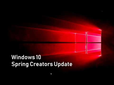 Microsoft officially announced Spring Creators update for April 2018