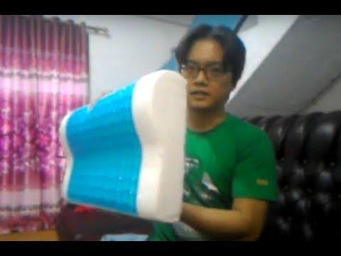 Review Bantal Memory Foam Countour Pillow Cooling Gel 😊😊