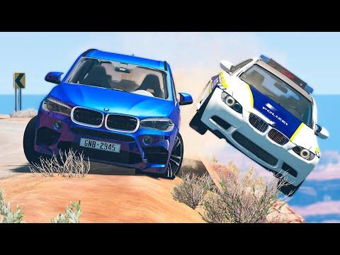 Download Cliff Drops Car Crashes #17 - BeamNG Drive | CRASHdriven MP3 Gratis