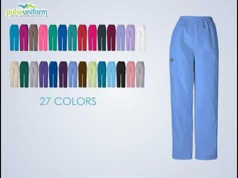 Cherokee Scrubs 4200T - Tall Cargo Nursing Scrub Pants for Women