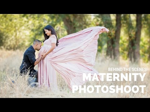 Outdoor Maternity Photo Shoot, maternity photography poses, Canon 5D Mark III and Octagon softbox