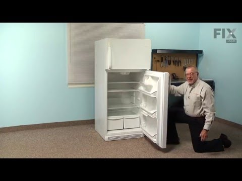Whirlpool Refrigerator Repair – How to replace the Door Gasket - White