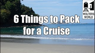 What to Pack for a Cruise - 6 Things NOT To Forget