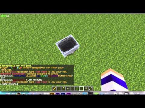 How to make a Minecraft Plane! No mods needed!