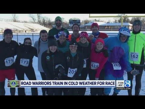 Road Warriors refuse to cave to the cold