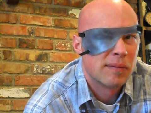 Bell's Palsy Eye Patch. PalsyPatch