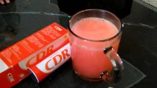 Unboxing CDR (Calcium D Redoxon)