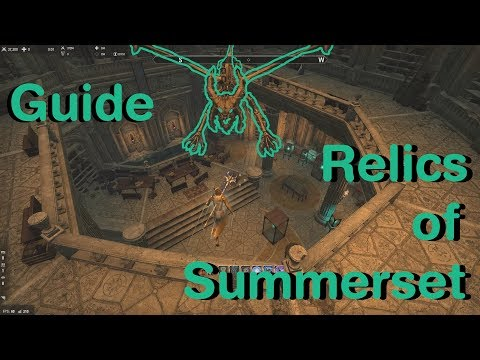 ESO - Relics of Summerset achievement guide (Summerset Chapter)