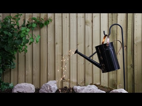 How To Make Your Own Watering Can Lights