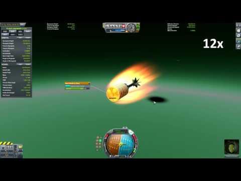 Kerbal Space Program - Aerobraking at Jool from retrograde solar orbit