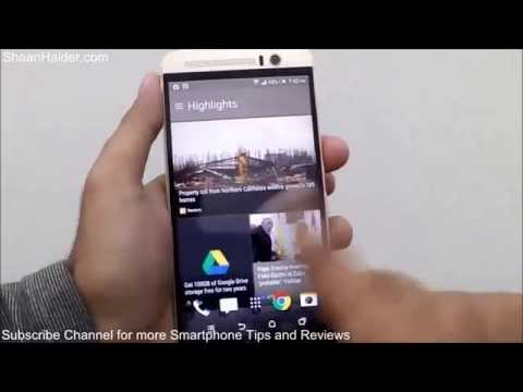 Htc One M9 How To Use The Htc Sense Home For Better Productivity