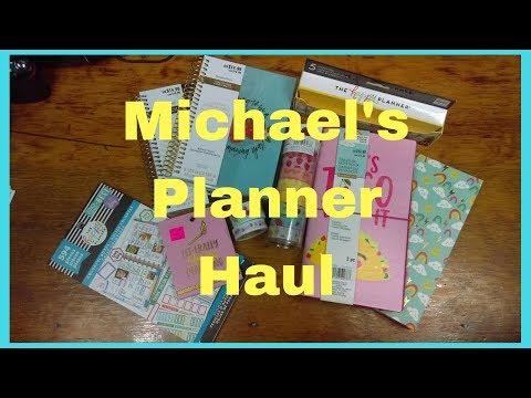 Michael's Haul June 2018