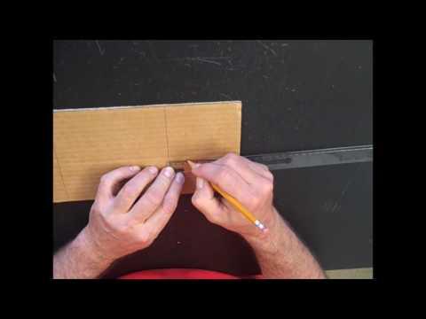Toothpick Bridge Base Building Instructions (8th Grade Science)