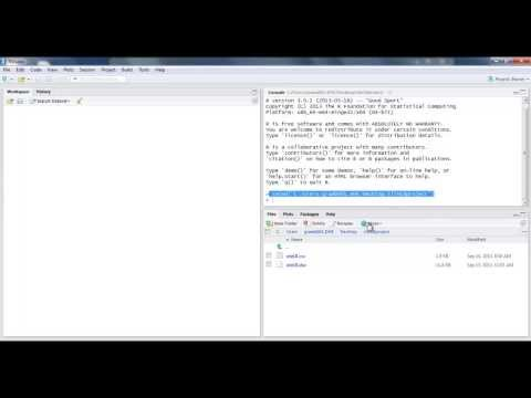 Tutorial - Getting Data into RStudio