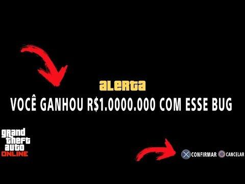 Bugando a ROCKSTAR e ganhando R$1.000.000 SOLO no GTA 5 ONLINE