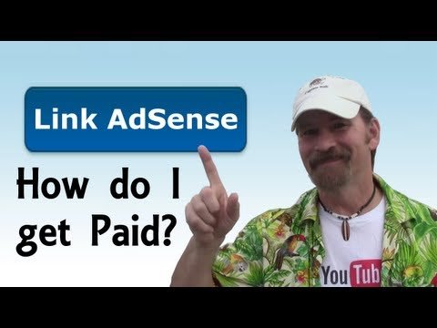 How To Link AdSense To Your YouTube Channel Tutorial 2013