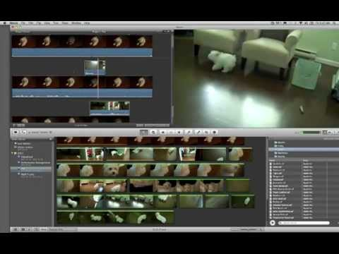 iMovie 11 Editing, Transitions & Titles