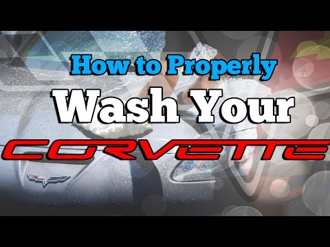 How to Properly Wash Your Corvette