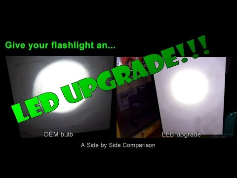 Give your flashlight an LED Upgrade