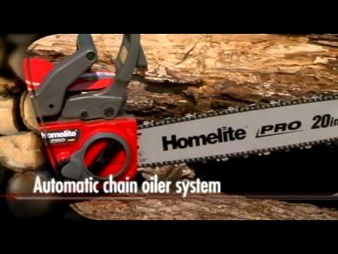 Homelite Pro 20 in. Chain Saw (UT10520)