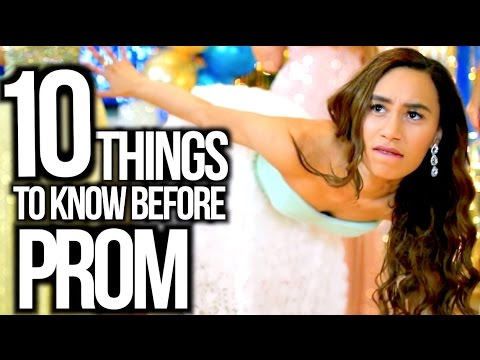 10 Things To Know Before Prom 2015! Makeup, Date Life Hacks + More!