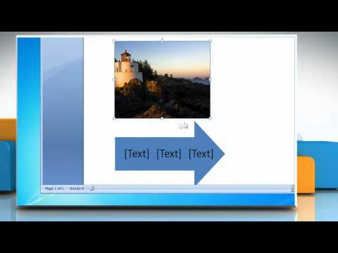 Microsoft® Word 2007: Create a flow chart with pictures in Windows® 7