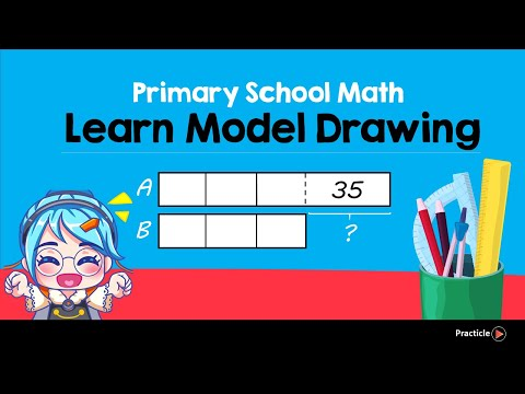 Model Drawing  with Before and After (Singapore Math Problem Solving Made Easy)
