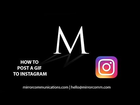 How To Post A GIF To Instagram