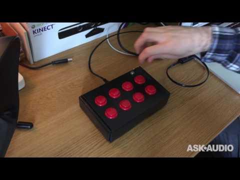 Teensy DIY MIDI Controller demo