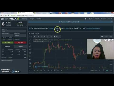 How to buy and sell bitcoin on Bitfinex