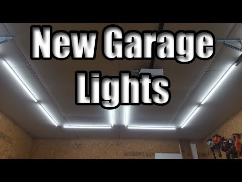 Amazon Barrina LED Light Review and Garage Install