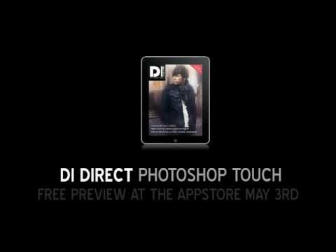 Digital Magazine Drives Photoshop From An iPad