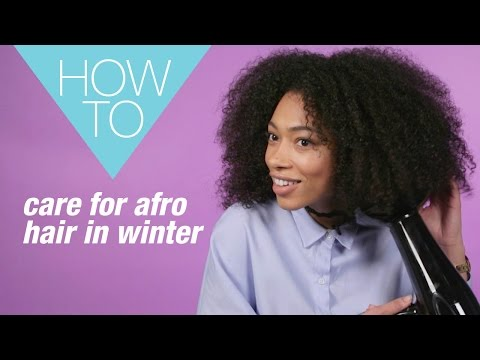 Winter hair care tips for natural Afro hair | 5 must-try tips