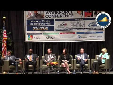 2016 Virginia Workforce Conference - HOW DOES VIRGINIA CLOSE THE WORKFORCE SKILLS GAP?