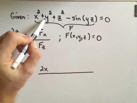 MultiVariable Calculus - Implicit Function Theorem