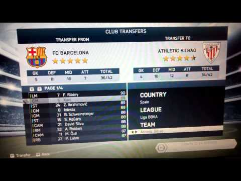 FIFA : How To edit teams in Fifa 14 without Internet