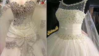 اجمل بدلات اعراس 👰 موديلات فساتين زفاف لأجمل عروسة 💘 wedding dresses 2017