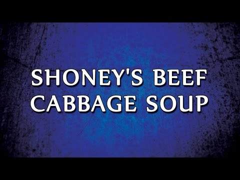 Shoney's Beef Cabbage Soup | RECIPES | EASY TO LEARN
