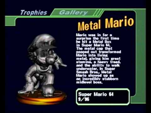 Super Mario 64 OST: Metal Mario