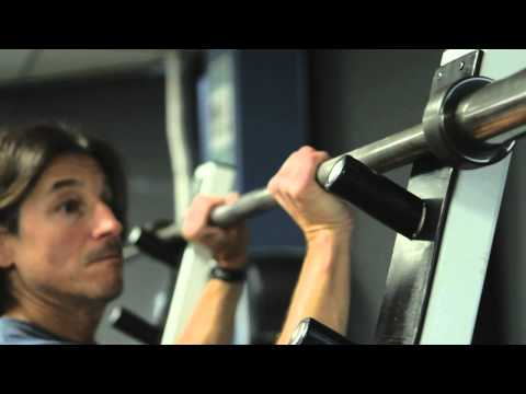 How to Turn a Bench Press Bar Into a Pull-Up Bar