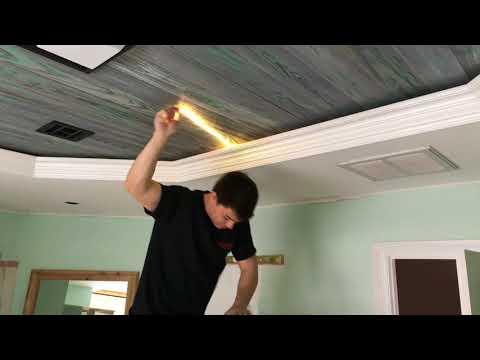 Crown lighting for easiest maintenance ever!