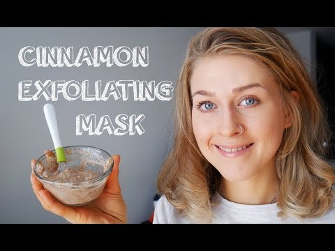 DIY:  Honey Cinnamon Face Exfoliator with Flax Seeds